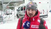 Adam Małysz po konkursie drużynowym w Oslo