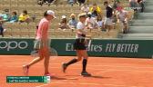 Świątek i Mattek-Sands wygrały 2. seta w meczu 3. rundy French Open