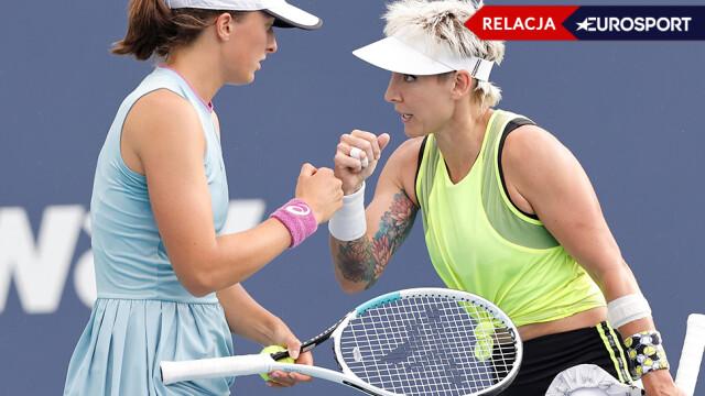 Roland Garros 2021. Iga Świątek / Bethanie Mattek-Sands - Su-Wei Hsieh / Elise Mertens - wynik i relacja na żywo | Eurosport w TVN24 - w Sport TVN24