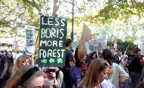 Strajk klimatyczny na ulicach Londynu