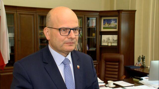 Prezydent Grudziądza Maciej Glamowski o sytuacji grudziądzkiego szpitala