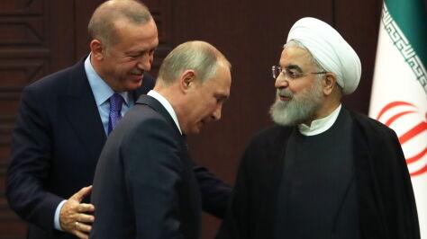 Putin, Erdogan i Rowhani spotkali się w Ankarze. Wspólna deklaracja w sprawie Syrii