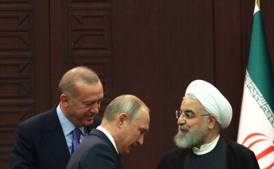 Spotkanie Władimira Putina, Recepa Tayyipa Erdogana i Hasana Rowhaniego