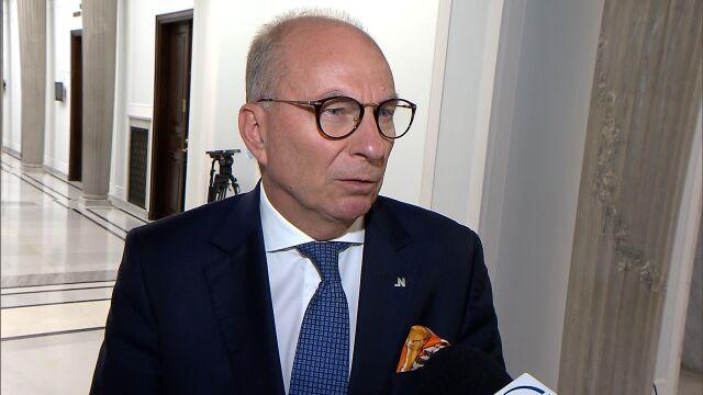 Meysztowicz o wydatkach Funduszu Sprawiedliwości