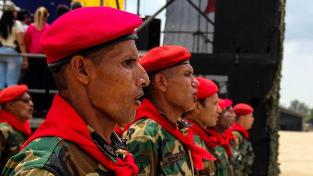 Pojednawcze gesty Maduro.