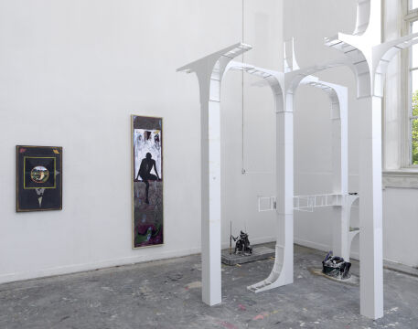 Anders Dickinson, Once a closely guarded secret, 2019, Offspring 2019 De Ateliers, Amsterdam, widok z wystawy, dzięki uprzejmości artysty i galerii Wschód.jpg