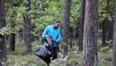 Para prezydencka sprzątała w piątek las w ramach ogólnopolskiej akcji