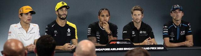 Hamilton chce, by Kubica został