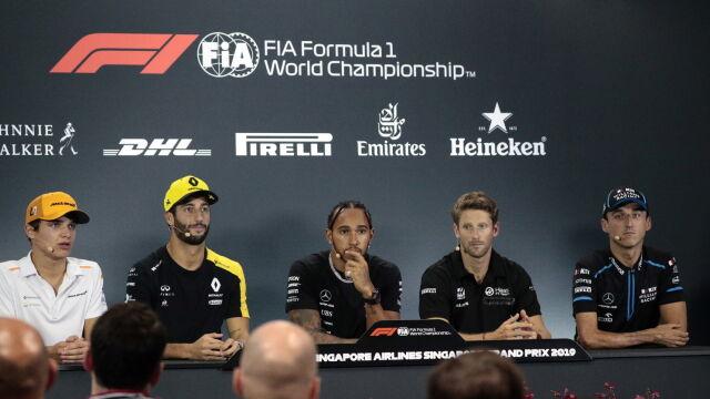 """Hamilton chce pozostania Kubicy. """"Potrzebujemy takich kierowców"""""""