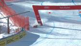 Niebiezpieczny upadek Segera. Kanadyjczyk niemal uderzył w bramę wyznaczającą linię mety