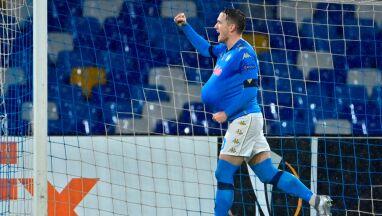 Piękny gol i wymowny gest. Zieliński bohaterem Napoli