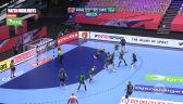 Skrót meczu Czarnogóra - Szwecja w 2. fazie grupowej mistrzostw Europy w piłce ręcznej kobiet