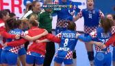 Skrót meczu Chorwacja - Rumunia w drugiej fazie grupowej ME kobiet w piłce ręcznej