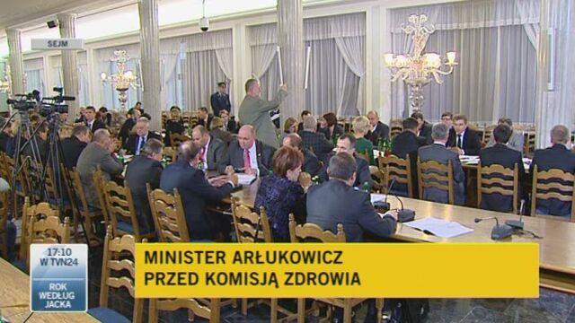 Minister Arłukowicz o refundacji leków przeciw chorobom przewlekłym (TVN24)