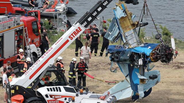 Zginął pilot. Pokazy przerwane