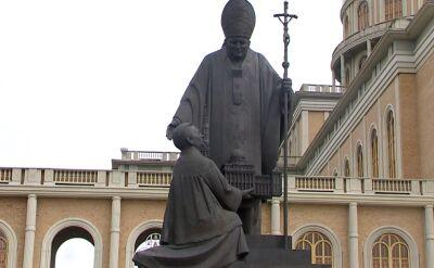 Zdemontowano pomnik przed bazyliką w Licheniu