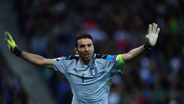 Buffon znów może zagrać dla Włoch. Myśli o igrzyskach