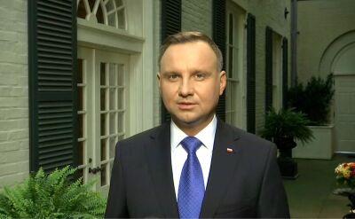 Andrzej Duda o wizach po spotkaniu z Donaldem Trumpem