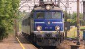 Śmierć pasażera i awaria zatrzymały pociąg