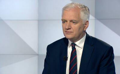 Gowin: oczywiście wyjaśnienia wymaga pytanie, które postawił kiedyś pan premier Donald Tusk