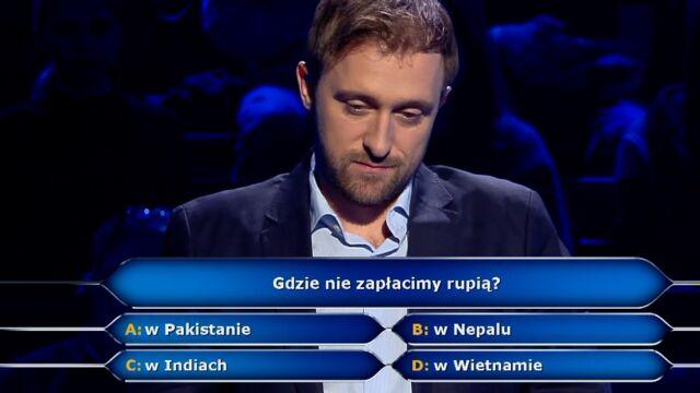 Pytanie o rupie za 20 tysięcy złotych