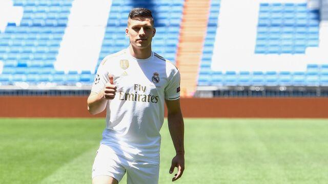 Luka Jović po raz pierwszy w koszulce Realu. Nie wyglądał na szczęśliwego
