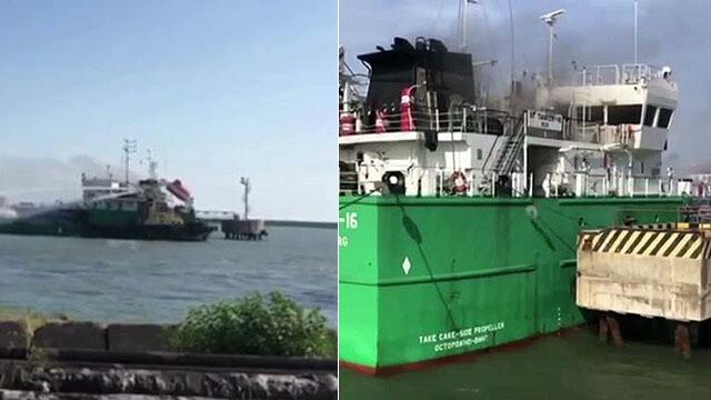 Wybuch na rosyjskim tankowcu. Nie żyje trzech marynarzy