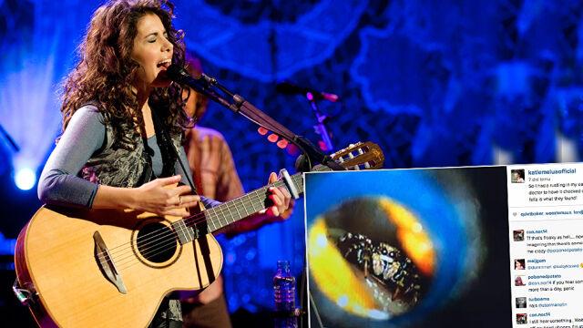 Katie Melua słyszała szelest w uchu. Lekarz znalazł tam pająka