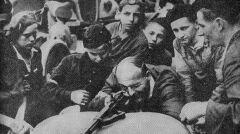 Nauka strzelania - Powstanie Warszawskie