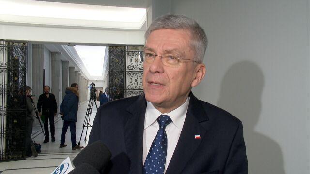 Decyzję sądu komentuje Stanisław Karczewski
