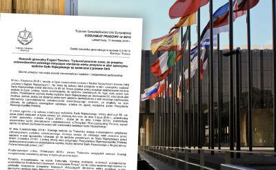 Rzecznik TSUE wydał opinię ws. przepisów dotyczących sędziów Sądu Najwyższego. Relacja z Brukseli