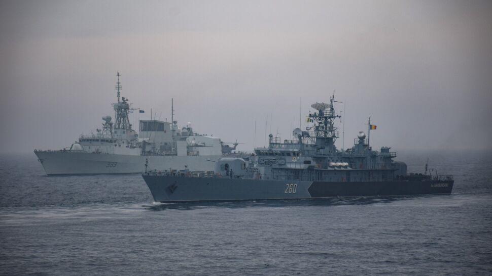 NATO prowadzi manewry na Morzu Czarnym. Rosjanie wypuścili bombowce