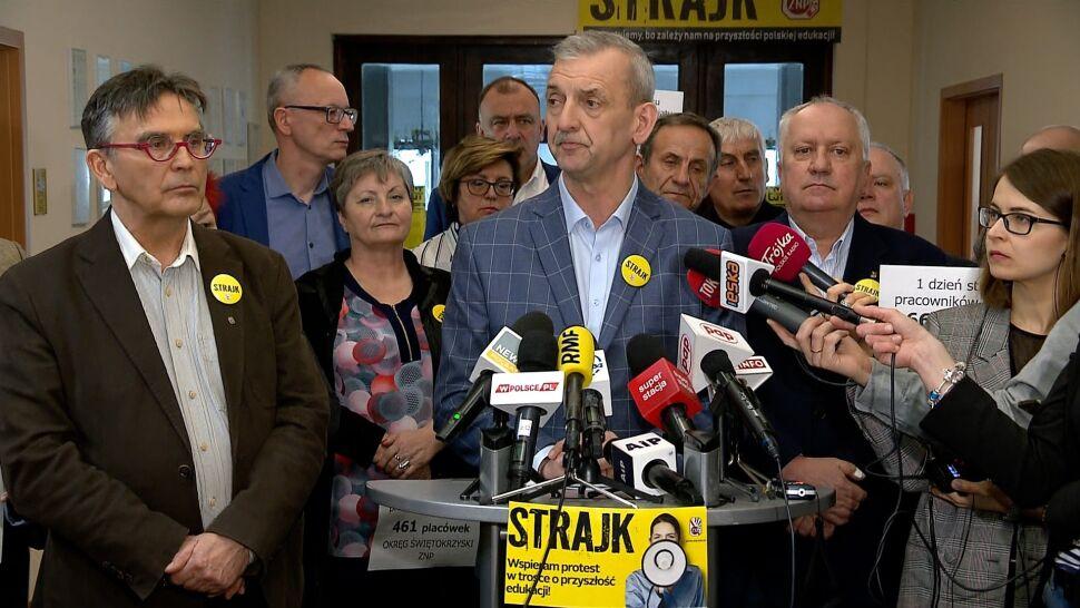 ZNP: strajkuje ponad 74 procent placówek