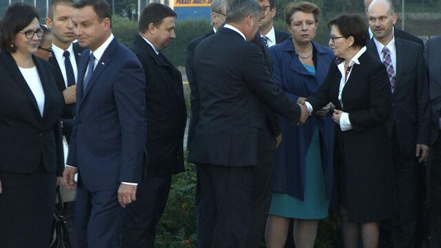 Andrzej Duda i Ewa Kopacz nie podali sobie dłoni po uroczystościach na Westerplatte