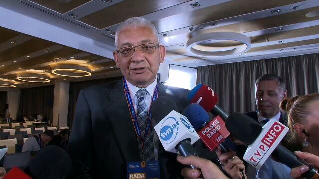 Po Radzie Krajowej PO Ludwik Dorn rozmawiał z dziennikarzami