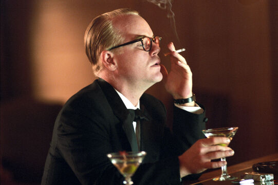 "Philip Seymour Hoffman w ""Capote"", 2005 rok"