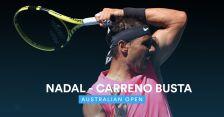 Skrót meczu Nadal - Carreno-Busta w 3. rundzie Australian Open
