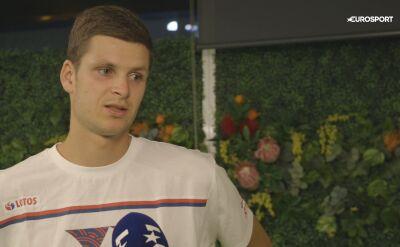 Hurkacz po porażce w 2. rundzie Australian Open