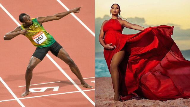 """Usain Bolt ma radosną nowinę. """"Król lub królowa zaraz tu będzie"""""""