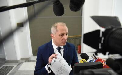 Neumann: marszałek Kuchciński zaproponował przerwę w posiedzeniu Konwentu Seniorów