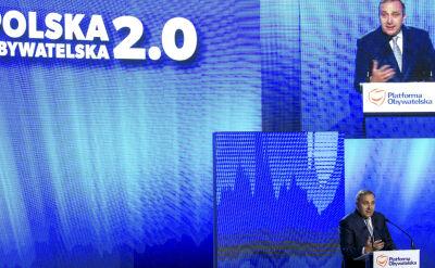 Przewodniczący Platformy: Polska stała się zdumieniem Europy