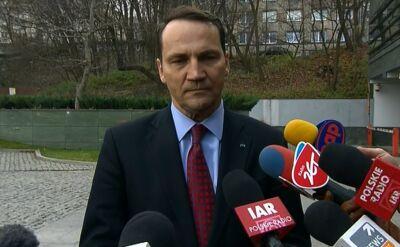 Sikorski: Ukraina nie planuje wprowadzenia stanu wyjątkowego