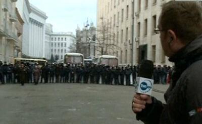 Tak wygląda miejsce, gdzie mieści się kacelaria prezydenta Ukrainy