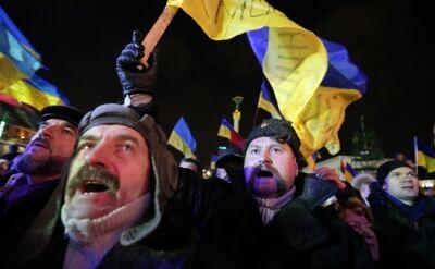 Spokojny protest na Majdanie