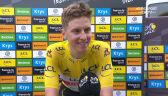 Pogacar po wygraniu 17. etapu Tour de France