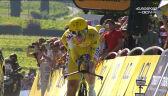 Pogacar na mecie 20. etapu Tour de France