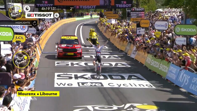 Najważniejsze wydarzenia 19. etapu Tour de France