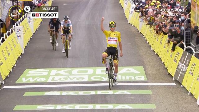 Pogacar wygrał 18. etap Tour de France