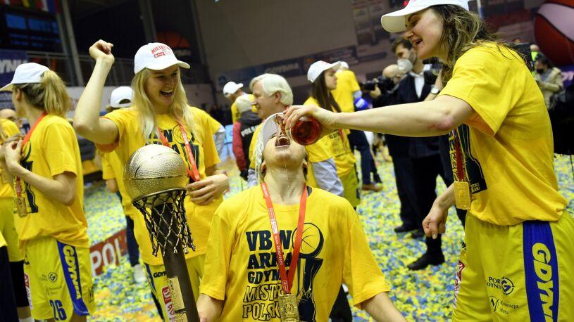 Koszykarki Arki mistrzyniami Polski. Zadecydował piąty mecz