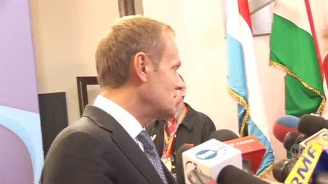 Premier znalazł z Hollande'em wspólny język (TVN24)
